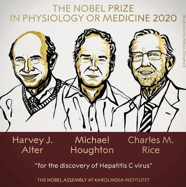 Nobel Prize Winners 2020 - Medicine or Physiology